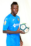 Getafe CF's Amath Ndiaye during the session of the official photos for the 2017/2018 season. September 19,2017. (ALTERPHOTOS/Acero)