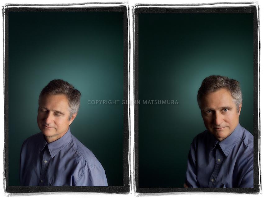 Michael Carabetta portrait. Chronicle Books.