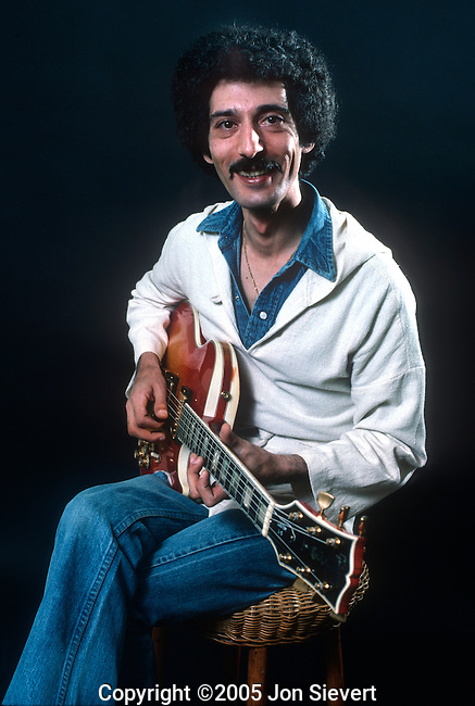 Pat Martino, March 1977. Italian-American jazz guitarist and composer within the post bop, fusion, mainstream jazz, soul jazz and hard bop idioms.