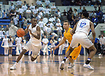 February 4, 2017:  Air Force guard, CJ Siples #2, drives the lane during the NCAA basketball game between the Wyoming Cowboys and the Air Force Academy Falcons, Clune Arena, U.S. Air Force Academy, Colorado Springs, Colorado.  Wyoming defeats Air Force 83-74.