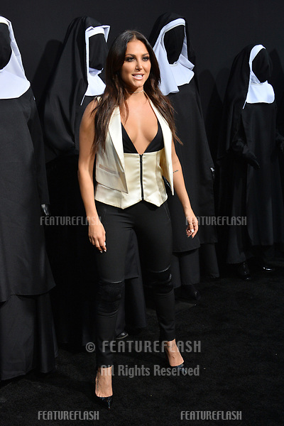 """LOS ANGELES, CA. September 04, 2018: Cassie Scerbo at the world premiere of """"The Nun"""" at the TCL Chinese Theatre, Hollywood."""