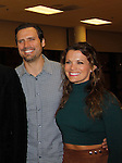 Joshua Morrow & Melissa Claire Egan - The Young and The Restless - Genoa City Live celebrating over 40 years with on February 27. 2016 at The Lyric Opera House, Baltimore, Maryland on stage with questions and answers followed with autographs and photos in the theater.  (Photo by Sue Coflin/Max Photos)