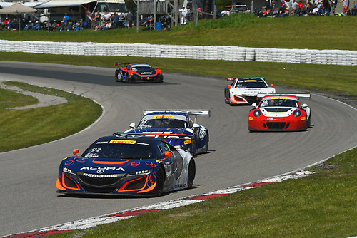 Pirelli World Challenge<br /> Victoria Day SpeedFest Weekend<br /> Canadian Tire Motorsport Park, Mosport, ON CANSaturday 20 May 2017<br /> Peter Kox/ Mark Wilkins<br /> World Copyright: Jay Bonvouloir<br /> Jay Bonvouloir Motorsports Photography