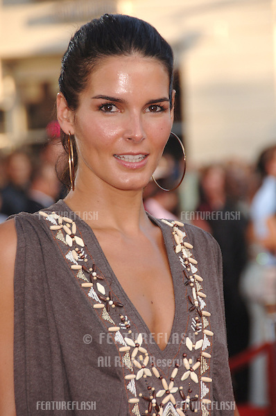 "Actress ANGIE HARMON at the world premiere, in Los Angeles, of ""Miami Vice."".July 20, 2006  Los Angeles, CA.© 2006 Paul Smith / Featureflash"