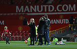 Film Star Julia Roberts films her children playing football on the Old Trafford turf during the Premier League match at the Old Trafford Stadium, Manchester. Picture date: November 27th, 2016. Pic Simon Bellis/Sportimage