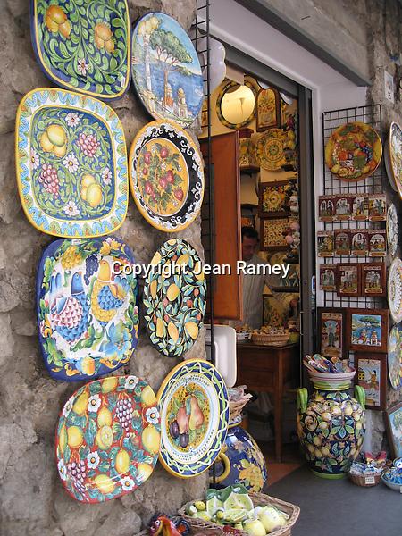 Ceramic Art, Amalfi Coast