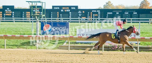 Shamroge winning at Delaware Park on 10/22/12
