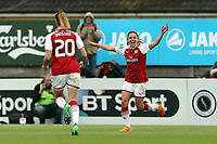 during Arsenal Women vs Manchester City Women, FA Women's Super League FA WSL1 Football at Meadow Park on 12th May 2018