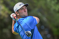 Jon Rahm (ESP) watches his tee shot on 11 during round 2 of the World Golf Championships, Mexico, Club De Golf Chapultepec, Mexico City, Mexico. 2/22/2019.<br /> Picture: Golffile | Ken Murray<br /> <br /> <br /> All photo usage must carry mandatory copyright credit (&copy; Golffile | Ken Murray)