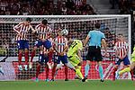 Getafe CF's Fayçal Fajr during La Liga match between Atletico de Madrid and Getafe CF at Wanda Metropolitano Stadium in Madrid, Spain. August 18, 2019. (ALTERPHOTOS/A. Perez Meca)