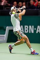 Februari 12, 2015, Netherlands, Rotterdam, Ahoy, ABN AMRO World Tennis Tournament, Simone Bolelli (ITA) <br /> Photo: Tennisimages/Henk Koster