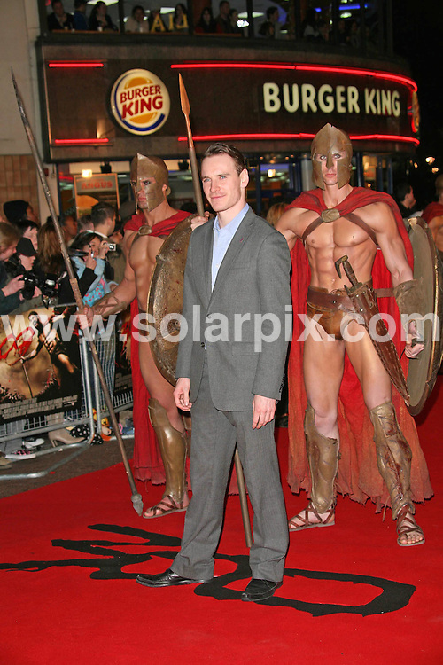 **ALL ROUND PICTURES FROM SOLARPIX.COM**.**WORLDWIDE SYNDICATION RIGHTS**.Michael Fassbender attends the UK premiere of 300 at Vue, Leicester Square, London on 15.03.07..JOB REF:  3532     SSD     DATE: 15.03.07.**MUST CREDIT SOLARPIX.COM OR DOUBLE FEE WILL BE CHARGED* *UNDER NO CIRCUMSTANCES IS THIS IMAGE TO BE REPRODUCED FOR ANY ONLINE EDITION WITHOUT PRIOR PERMISSION*
