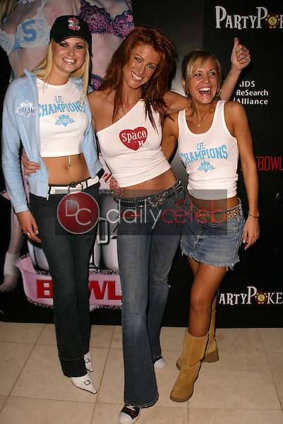 Tiffany Haugen, Angie Everhart and Jennifer Birmingham