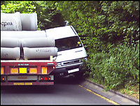 Dorset village suffers HGV nightmare.(WithVid)