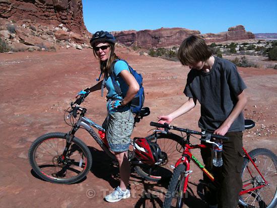 . Saturday, October 17 2009.Laura Nelson Noah Nelson , monitor and merrimac mountain bike trail