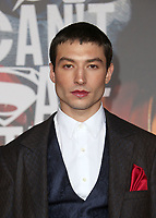 LOS ANGELES, CA - NOVEMBER 13: Ezra Miller, at the Justice League film Premiere on November 13, 2017 at the Dolby Theatre in Los Angeles, California. <br /> CAP/MPI/FS<br /> &copy;FS/MPI/Capital Pictures