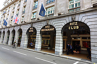 Views of Iconic London, Hotels, Fashion and Restaurants. October 8th 2018<br /> Pictured - The Ritz<br /> CAP/ROS<br /> &copy;ROS/Capital Pictures
