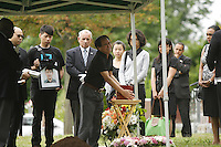 Montreal (QC) CANADA - July 26, 2012 - Public funeral of Jun Lin, he Concordia student allegedly killed and dismembered by Luka Rocco Magnotta