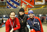 SCHAATSEN: HEERENVEEN: IJsstadion Thialf, 13-03-2004, VikingRace, Marrit Leenstra (NED), ©foto Martin de Jong