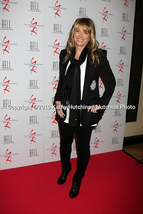 Maria Arena Bell.arrivng at The Young & The Restless 37th Anniversary Dinner.Via Allorro.Beverly Hills, CA.March 9, 2010.©2010 Kathy Hutchins / Hutchins Photo....