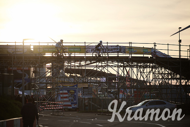 over the bridge<br /> <br /> UCI Cyclocross World Cup Heusden-Zolder 2015