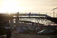 over the bridge<br /> <br /> UCI Cyclocross World Cup Heusden-Zolder 2015