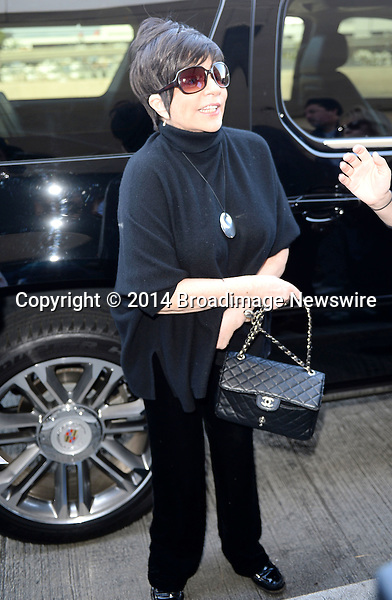 Pictured: Liza Minnelli<br /> Mandatory Credit &copy; Milton Ventura/Broadimage<br /> Liza Minnelli arriving at the Los Angeles International Airport<br /> <br /> 3/27/14, Los Angeles, California, United States of America<br /> <br /> Broadimage Newswire<br /> Los Angeles 1+  (310) 301-1027<br /> New York      1+  (646) 827-9134<br /> sales@broadimage.com<br /> http://www.broadimage.com