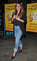"Louise Redknapp at the ""9 To 5 The Musical"" theatre cast stage door departures, Savoy Theatre, The Strand, London, England, UK, on Thursday 06th June 2019.<br /> CAP/CAN<br /> ©CAN/Capital Pictures"