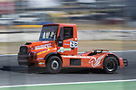 Spanish driver Pedro Ignacio Garcia Marco belonging Spanish team Pedro Ignacio Garcia Marco during the third race R3 of the XXX Spain GP Camion of the FIA European Truck Racing Championship 2016 in Madrid. October 02, 2016. (ALTERPHOTOS/Rodrigo Jimenez)