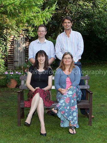 Portrait - Waldram Family  3rd September 2011..© Washbrooke - 3 Oulton Rise, Harpenden, Herts, England. AL5 4PL - Tel: +44 (0) 182761974 - richard@washbrooke.com - www.richardwashbrooke.photoshelter.com