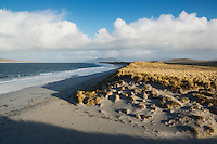 West beach and sand dunes, Berneray, Outer Hebrides, Scotland