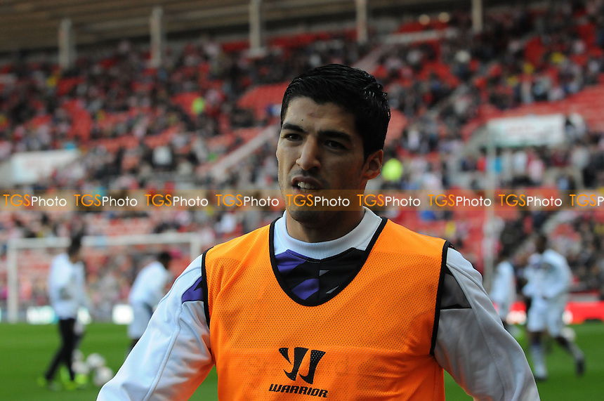 Luis Su&aacute;rez of Liverpool - Sunderland vs Liverpool - Barclays Premier League Football at the Stadium of Light, Sunderland - 29/09/13 - MANDATORY CREDIT: Steven White/TGSPHOTO - Self billing applies where appropriate - 0845 094 6026 - contact@tgsphoto.co.uk - NO UNPAID USE<br />   i