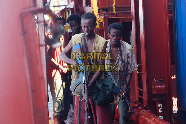 Barkhad Abdi<br /> in Captain Phillips (2013) <br /> *Filmstill - Editorial Use Only*<br /> CAP/FB<br /> Image supplied by Capital Pictures