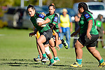 NELSON, NEW ZEALAND - MAY 6: Women Rugby Marist v Motueka High, May 6, 2017, Tahunanui, Nelson, New Zealand. (Photo by: Barry Whitnall Shuttersport Limited)