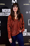 Cristina Abad attends to 'Morir para contar' film premiere during the Madrid Premiere Week at Callao City Lights cinema in Madrid, Spain. November 13, 2018. (ALTERPHOTOS/A. Perez Meca)