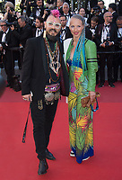 Georg Georgi &amp; guest at the premiere for &quot;120 Beats per Minute&quot; at the 70th Festival de Cannes, Cannes, France. 20 May  2017<br /> Picture: Paul Smith/Featureflash/SilverHub 0208 004 5359 sales@silverhubmedia.com