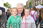 Hannah and John Dundon with Katie Cusack (Limerick City) pictured queuing for the Union J concert at Denny Street on Friday.