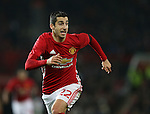 Henrikh Mkhitaryan of Manchester United during the English League Cup Quarter Final match at Old Trafford  Stadium, Manchester. Picture date: November 30th, 2016. Pic Simon Bellis/Sportimage