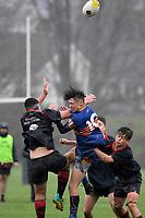 Hurricanes U15 Rugby - Feilding High School v St Thomas School at Trentham Memorial Park, Upper Hutt, New Zealand on Thursday 5 September 2019. <br /> Photo by Masanori Udagawa. <br /> www.photowellington.photoshelter.com