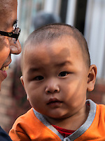 Baby in Peking, Peking, China, Asien<br /> Baby, Beijing, China, Asia