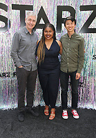 CENTURY CITY, CA - June 2: Steve James, Jada Buford, Bing Liu, at Starz FYC 2019 — Where Creativity, Culture and Conversations Collide at The Atrium At Westfield Century City in Century City, California on June 2, 2019. <br /> CAP/MPIFS<br /> ©MPIFS/Capital Pictures