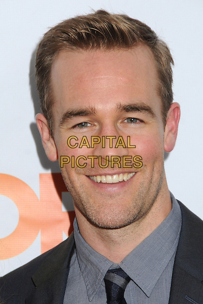 "James Van Der Beek.The Trevor Project's ""Trevor Live"" 2012 held at the Hollywood Palladium, Hollywood, California, USA..December 2nd, 2012.headshot portrait stubble facial hair shirt grey gray  .CAP/ADM/BP.©Byron Purvis/AdMedia/Capital Pictures."