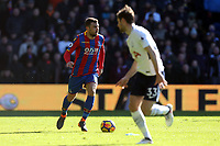 James McArthur of Crystal Palace and Ben Davies of Tottenham Hotspur during Crystal Palace vs Tottenham Hotspur, Premier League Football at Selhurst Park on 25th February 2018