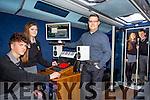 Gaelcholaiste TY Student on Radio Training Workshops on Monday were l-r Gearoid O Beolain, Caoimhanímh Ó Ragha, Daryl Moorehouse, Tweakel.com, Carie ni Dhubhlainn  Sean Ó Galbháin