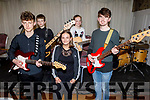 Gavin Mulvihill, Ciara O'Donoghue, Sean and Sorcha Begley and Tim Grimes ready to rock and roll Kerry School of Music concert at the Rose Hotel on Sunday
