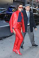 NEW YORK, NY- November 06: Naomi Scott  at Good Morning America promoting Charlie's Angels on November 06, 2019 in New York. City. Credit: RW/MediaPunch