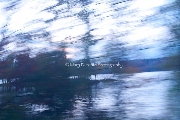 speeding past vistas