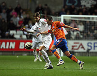 Pictured: Andrea Orlandi of Swansea City in action <br /> Re: Coca Cola Championship, Swansea City FC v Reading at the Liberty Stadium. Swansea, south Wales, Saturday 17 January 2009<br /> Picture by D Legakis Photography / Athena Picture Agency, Swansea 07815441513