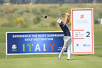 Joakim Lagergren (SWE) during the third round of the Rocco Forte Sicilian Open played at Verdura Resort, Agrigento, Sicily, Italy 12/05/2018.<br /> Picture: Golffile   Phil Inglis<br /> <br /> <br /> All photo usage must carry mandatory copyright credit (&copy; Golffile   Phil Inglis)