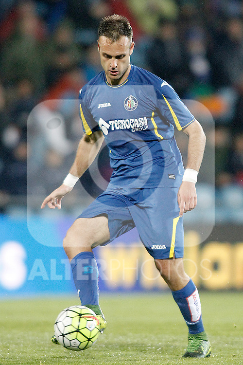 Getafe's Juan Cala during La Liga match. March 18,2016. (ALTERPHOTOS/Acero)